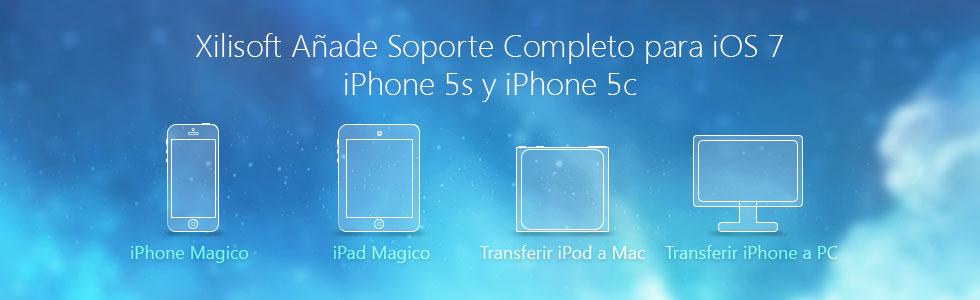 Xilisoft Soportar iOS 7